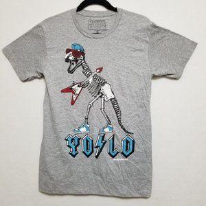 David & Goliath T-shirt YOLO Dinosaur Graphic Sz S